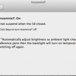 新MacBookAir11′の画面を閉じても自動でスリープしない設定をしてくれるinsomniaTをインストールしてみた