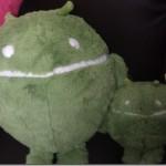 今さらだけど、巨大マリモドロイド君クッションsquishable androidを輸入してみたよ #androidjp