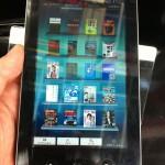 #GALAPAGOS メディアタブレットEBW-51GJを触ってきたよ #androidjp #ebookjp