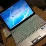 モバイル用PCで #dynabook RX1を購入しました。