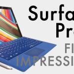 今更Surface Pro 3ファーストインプレッション #surfaceJP #SurfacePro3